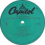 Way Down Yonder Capitol Label A