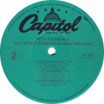 Way Down Yonder Capitol Label B