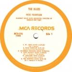 The Blues MCA Label A SML