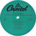 Way Down Yonder Capitol Label B