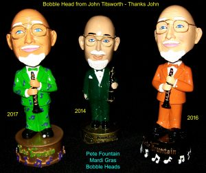 Pete Fountain Bobble Heads from John Titsworth